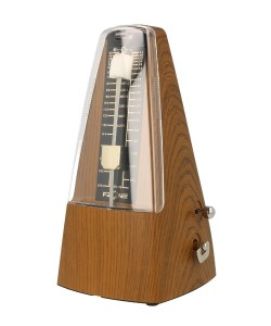 FZONE FM-310 LIGHT TEAK - Metronom mechaniczny